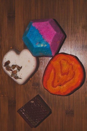 Heart Colorfull Psichedelic Inspiring Cute Bathroom Items Soap Handmade Cosmetics No People Body Care
