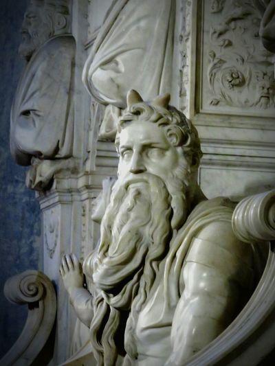 Mosè Michelangelo Basilica San Pietro In Vincoli Roma Rome Italy Italia Arte Art Eyeemphotography EyeEm Gallery EyeEm Best Shots Scultura Scultpure Eye4photography  Rome