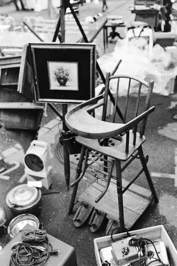 Baby Chair Baby Seat Day Flea Market Fleamarket No People Second Hand Thiftstore Thrift Shop Triftshop