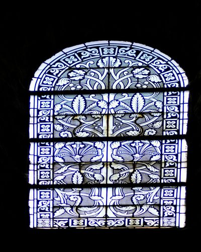 Window Stained Glass Arch Dark Religion Spirituality Design Church 12th Century Tranquility Arched Travel Destinations Built Structure Glass - Material Church Architecture Place Of Worship Stained Glass Close-up Place Of Worship Blue Day Backlit Tranquility No People