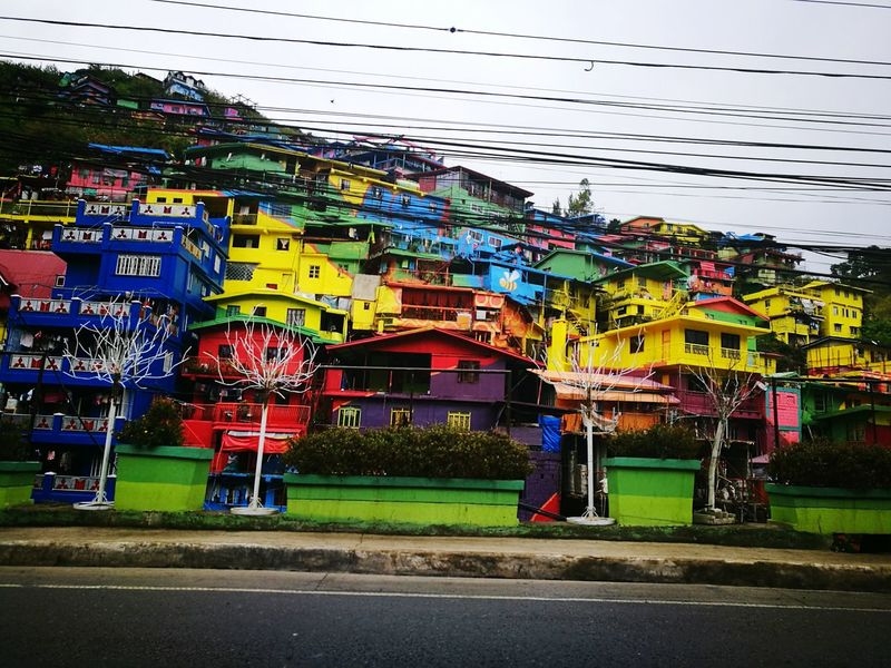 Houses Arts Multi Colored Loving It😍😋😊 Colorful Painted Houses Architectural Style Baguio City, Philippines Homes Native