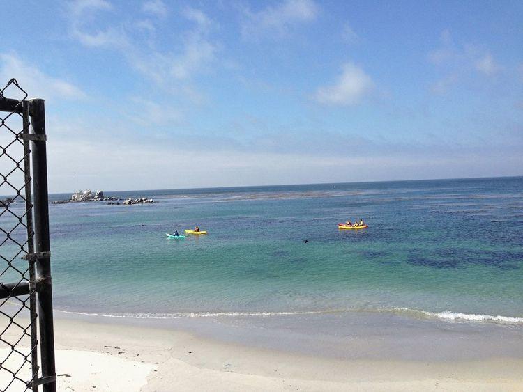 Exploring Enjoying The Sights Watching Boats Monterey Bay