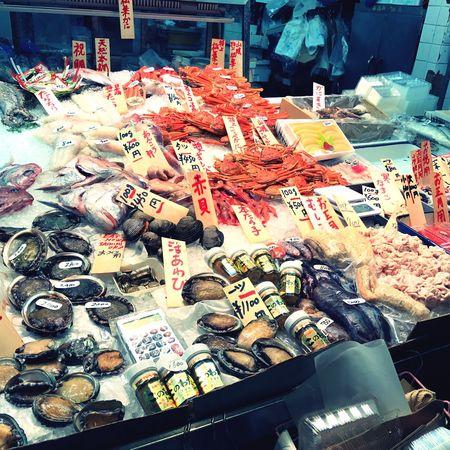 Seafoods Seafood Market Nishiki Nishiki Market  Kyoto Kyoto,japan Kyoto, Japan Japan Photography Japan