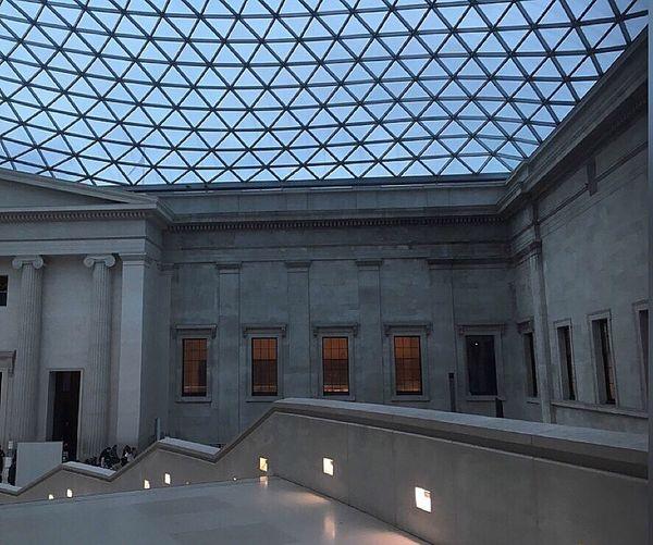 Design Britishmusuem London Beautiful Photography Art Stairs Windows Panels Checkthisout Historical
