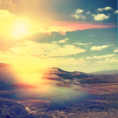 ECLIPSE Conceptual Double Exposure Melancholic Landscapes Sunset