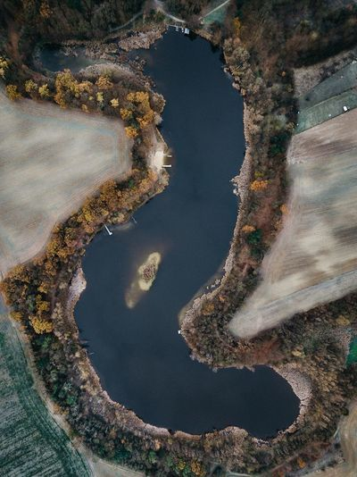Langer See Winter Autumn Lake Mood EyeEmNewHere EyeEm Best Shots EyeEmBestPics EyeEm Best Edits Brandenburg Dronephotography Water Nature Day Land High Angle View No People Sea Outdoors Beauty In Nature Beach Plant Aerial View Sand Tranquility Sunlight Growth Sky Landscape