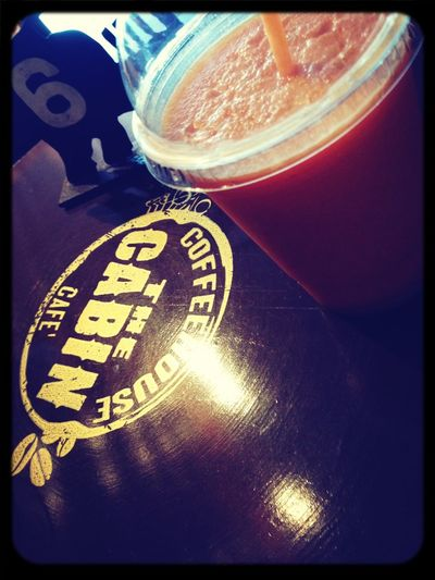 Orange Carrot Smoothie, everyone has to try this. Come visit, right now.