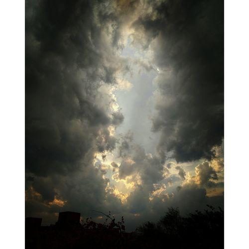 After the Storm... Delhi, India Clouds Storm