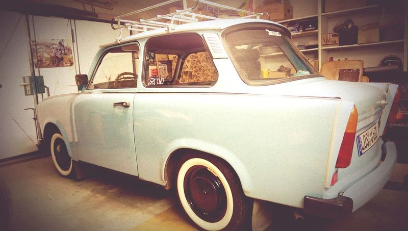 Pastel Power Trabant601 Garage Handmade