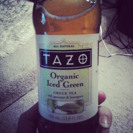 Tazo Greentea Spearmint Lemongrass Yum Organic