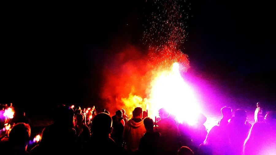 Taking Photos Collected Community Celebration Celebrating Fire Fireworks The Marches Scotland