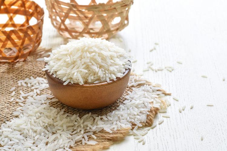 Rice raw White