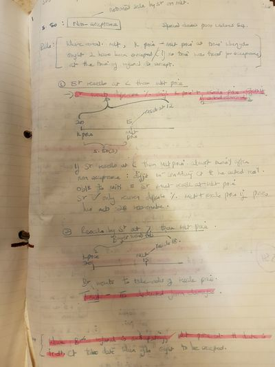 It seems I used to write lecture notes with a fountain pen 29 Year Old Notes Lecture Notes Instructions Science Formula Paper Ink Handwriting