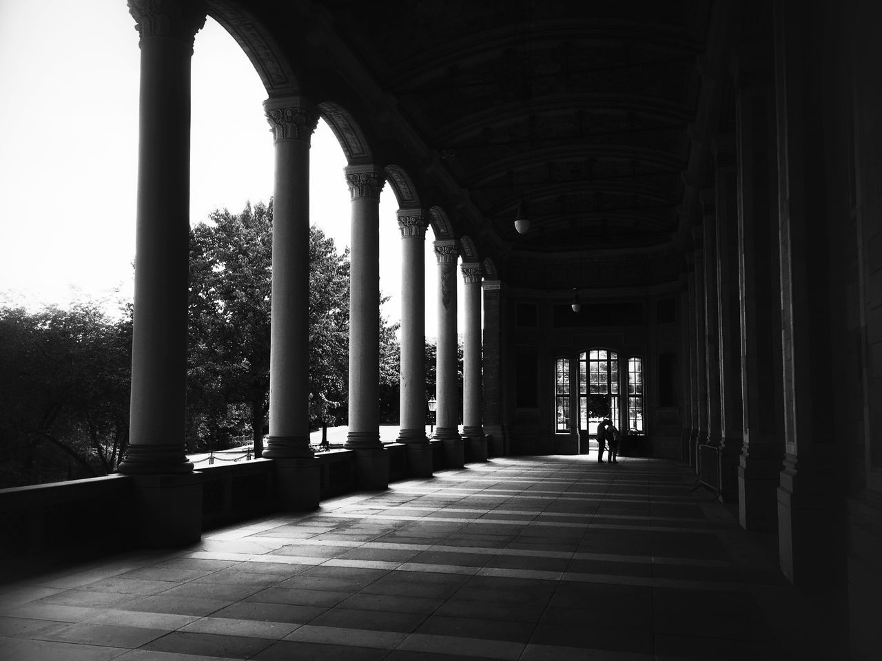 architectural column, the way forward, indoors, corridor, architecture, arch, day, pillar, built structure, no people