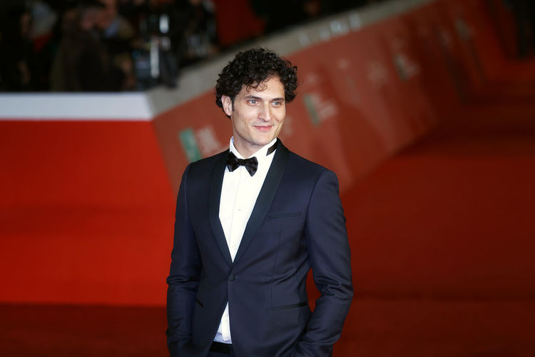Rome, Italy - October 13, 2016: Rome Film Festival, Eleventh Edition. Red carpet with Moonlight pictured actor Alessandro Tersigni Actor Adult Adults Only Alessandro Tersigni Ff11 Handsome Indoors  Men One Man Only One Person Only Men People Portrait Red Carpet Event Suit Tersigni Well-dressed Young Adult