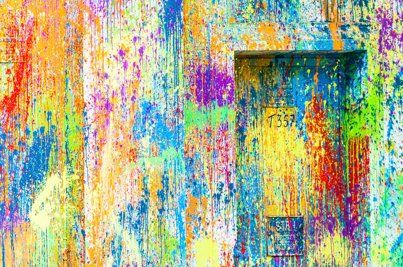 Abstract Backgrounds Colorful Colors Colorsplash Full Frame Multi Colored No People Outdoors Spray Paint Textured