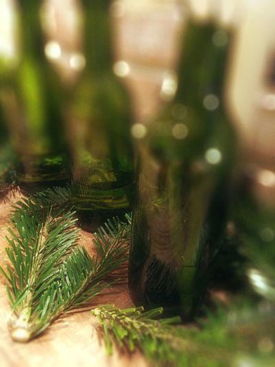 My Winter Favorites Green tis the season Bottle Glass Glass Art Christmas Joyeux Noël**Marry Chrismas**Feliz Natal Christmas Tree Christmastime Christmas Lights Christmas Decorations Christmas Spirit Garland Flower Collection Greenery Tree_collection  Trees TreePorn On Thetable Christmas Around The World It's Cold Outside