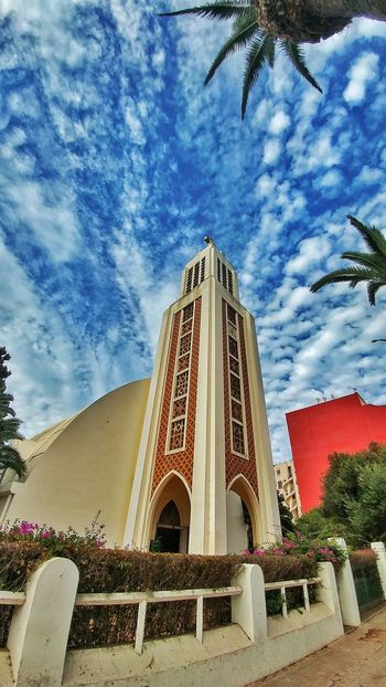 Morocco Architecture Cloud - Sky Built Structure Mohammedia Lg G5