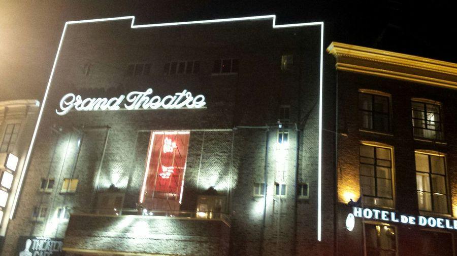 Groningen Grand Theater Grote Markt Nachtfotografie Nightphotography NoEditNoFilter Myfuckinggroningen