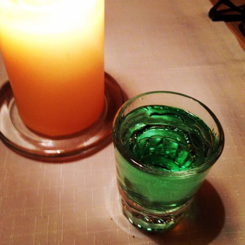 The return of the Greenfairy ? Absinthegreenfairy Absinthe Dinner Riga Latvia Traveling Drinks Drinking