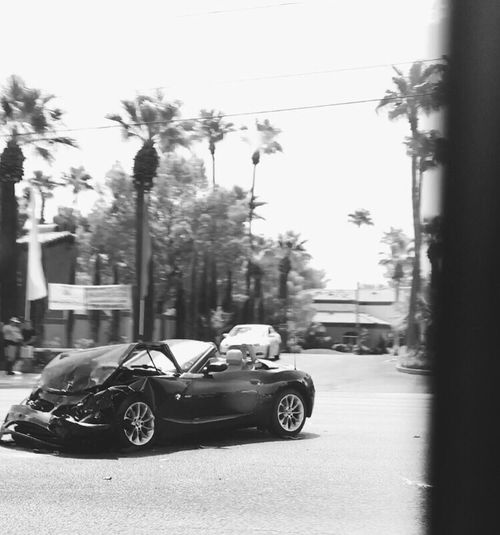 Crash Car Vintage Roadside First Eyeem Photo
