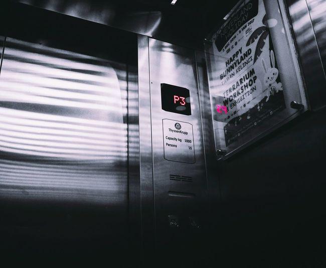 Close-up of illuminated bus