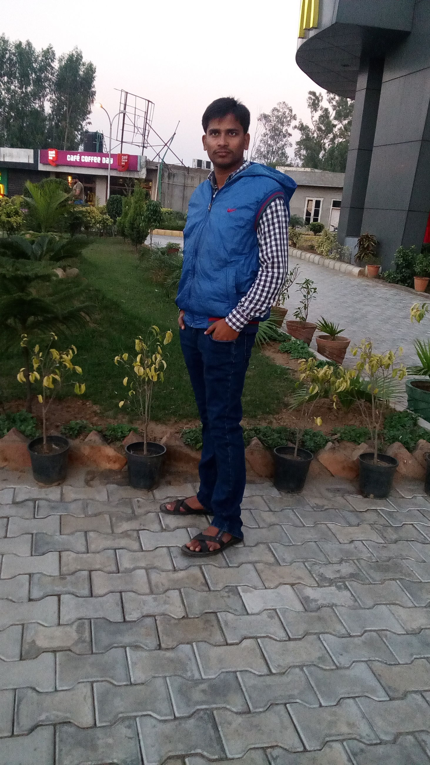 full length, casual clothing, lifestyles, leisure activity, person, standing, childhood, front view, elementary age, girls, built structure, boys, looking at camera, railing, young adult, steps, footpath, park - man made space