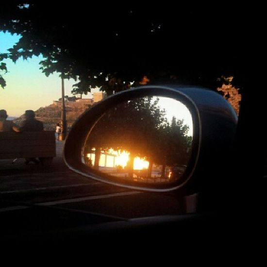 Rearviewmirror Sunset , Instagram Clich é