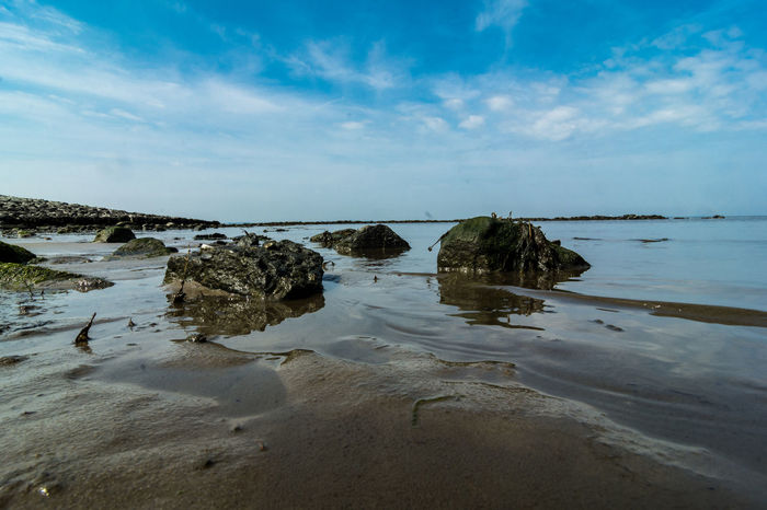 Stone Material EyeEm Nature Lover Nature_collection Nikon D750 Beauty In Nature Cloud - Sky Horizon Over Water Land Nature Nordsee Outdoors Scenics - Nature Sea Sky Water The Great Outdoors - 2018 EyeEm Awards The Traveler - 2018 EyeEm Awards Seascape