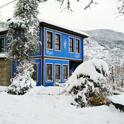 Bursa Bursakarmanzarası Bursakar Bursavekar Snowfall Snow Bluehome Bluehouse Winterscenes Karmanzarası Snowfall Snowscene Snowtrees Winter
