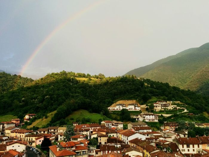 Seize the colours, seize the day The Moment - 2015 EyeEm Awards Rainbow Light Rainstorm Village Life Arcobaleno  Check This Out Eyem Nature Lover