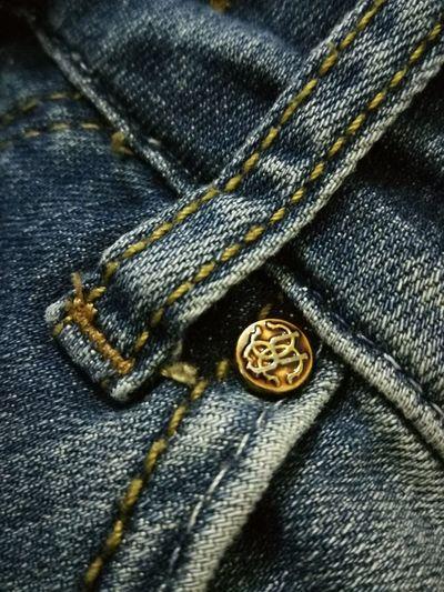 RobertoCavalli Macro Photography Jeans Fashion Textile Textured  Denim Zipper
