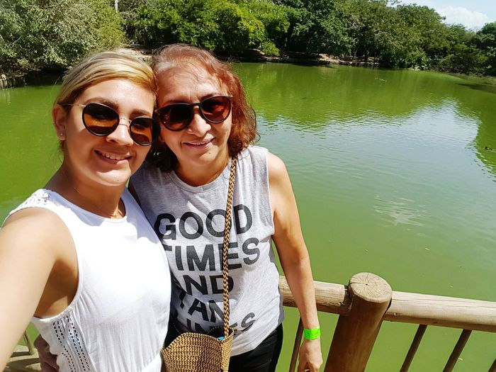 Aviario nacional 😍 Togetherness Portrait Lake Summer Happiness Nature Colombia ♥  Aviario Nacional Nature Outdoors Cartagena/Colombia Enjoying Life Selfie ✌ Blondiegirl Hello World