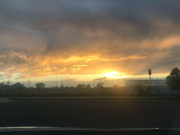Good Morning Jordan Springs Sunset Sky Cloud - Sky Sun Nature Sunlight