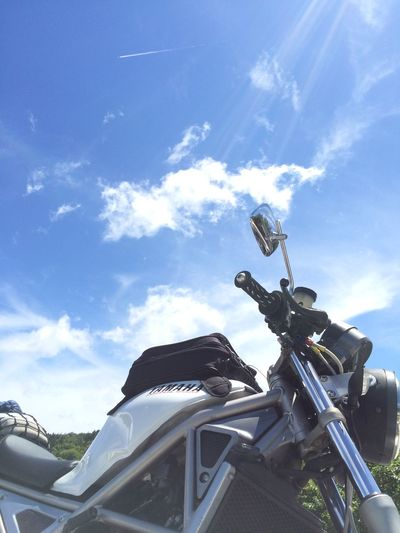 Motorcycles Blue Sky Sky 青空 バイク IPhone