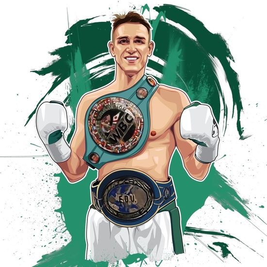 Vector art just done of #CALLUMSMITH 👊👊👊👊 quality boxer!