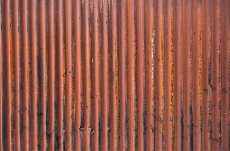 Full frame shot of rusty metallic structure