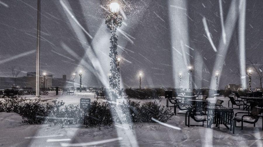 Night Snow No