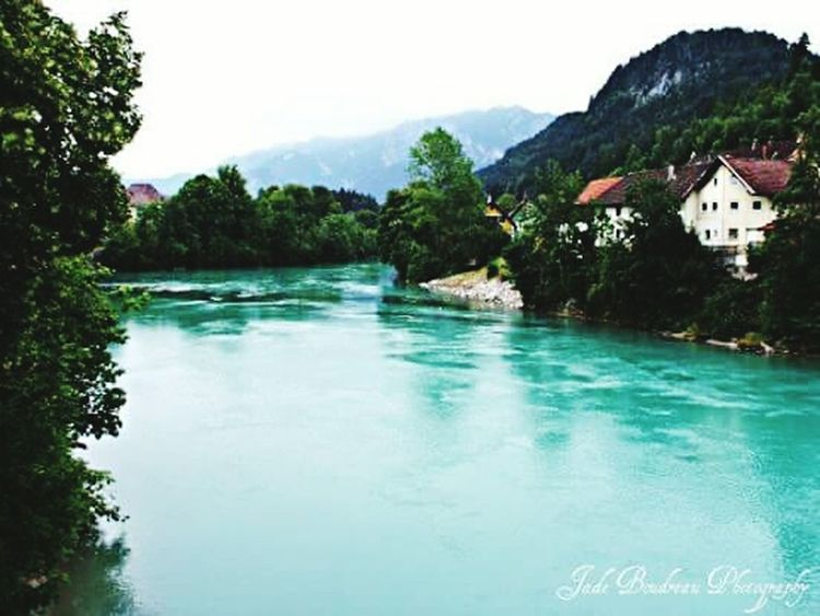 Fussen River, Germany Travel Photography