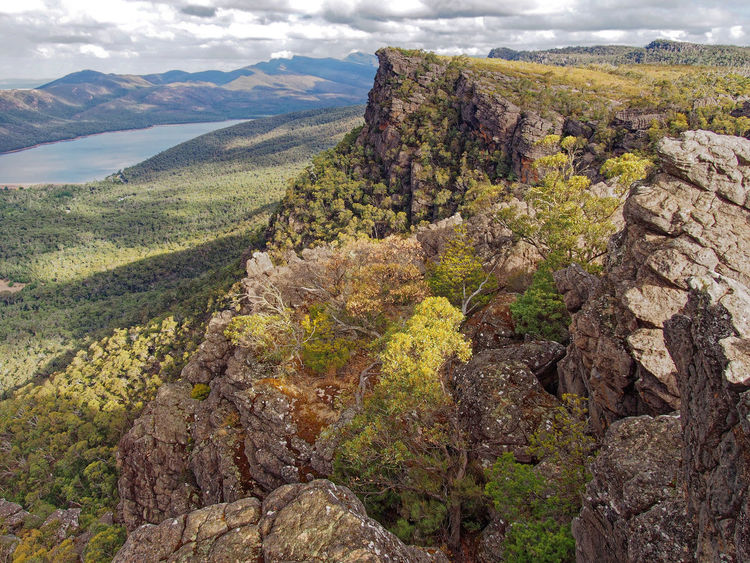 Pinnacle Lookout, Grampian National Park, Victoria, Australia, March 2018 Pinnacle Lookout Grampian National Park Scenics - Nature Landscape Mountain Tranquil Scene Mountain Range Formation Australian Landscape