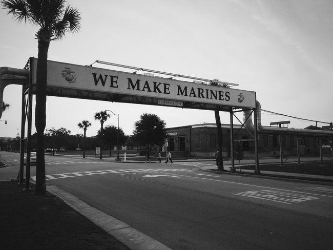 We make Marines USMC Blackandwhite Monochrome IPhoneography Vscocam