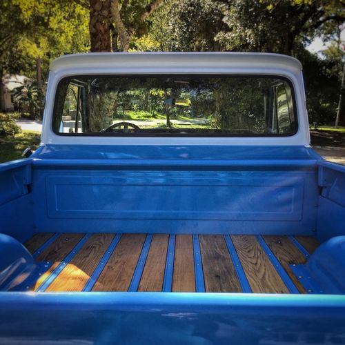 The Drive Old blue chevy pickup Old Pickup Truck Chevy Pickup Pickup Truck Chevy Truck Chevrolet Chevy Truck Chevytruck Chevy Blue Truck Through The Window