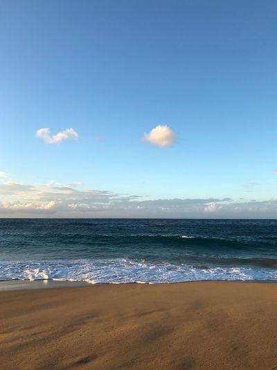 Horizon Puerto Rico Sea Beach Water Sand Nature Scenics Beauty In Nature Horizon Over Water Tranquil Scene Sky Tranquility Shore Wave Day Outdoors No People Cloud - Sky Blue Travel Destinations Sunlight