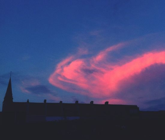 Pink Clouds Who Are You ? rRed Clouds