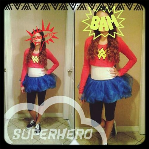 We All Are Wonder Woman♡What Are You For Halloween?:) Costume Girlpower We Don't Hear Everything Equally , We Tend To Hear The Negativity More Loudly . ~