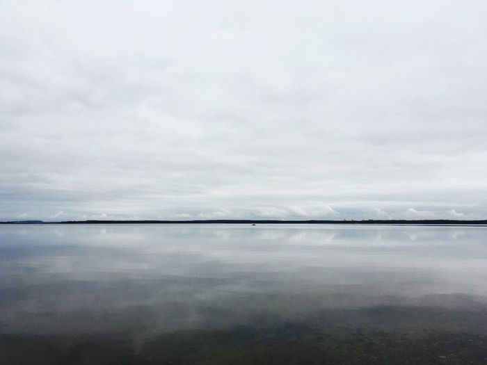 Reflection Sky Tranquil Scene Tranquility Nature Water Beauty In Nature No People Scenics Cloud - Sky Waterfront Outdoors Day