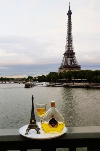 Sienne_river Eiffel Tower Paris Outdoors Water Vacations