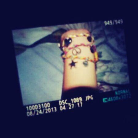 my friend bought me a charm bracelet :) Accessories Charm Bracelet Friends Fashion