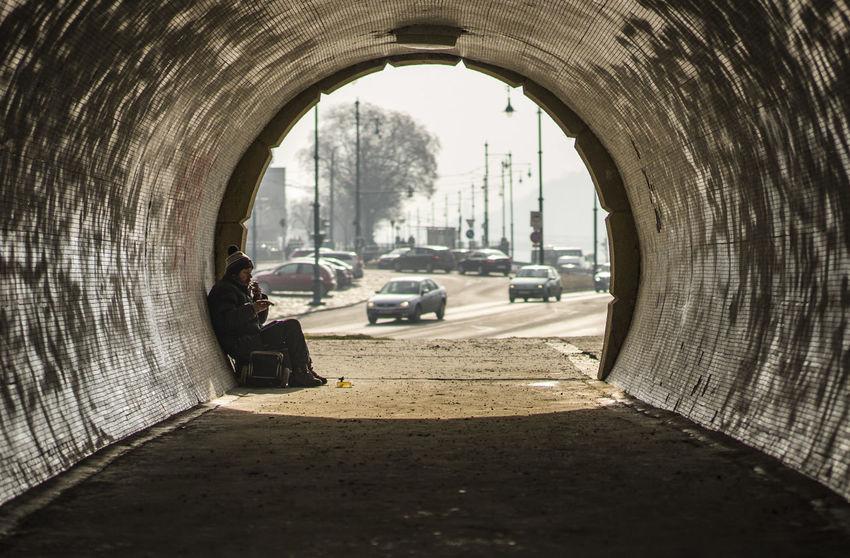 Architecture Budapest Men Perspective Promenade Street Street Photography Streetphotography Tunnel Under Urban Urbanphotography