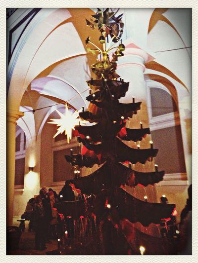 Mittelalterlicher Weihnachtsmarkt Candlelight Christmas Christmasmarket